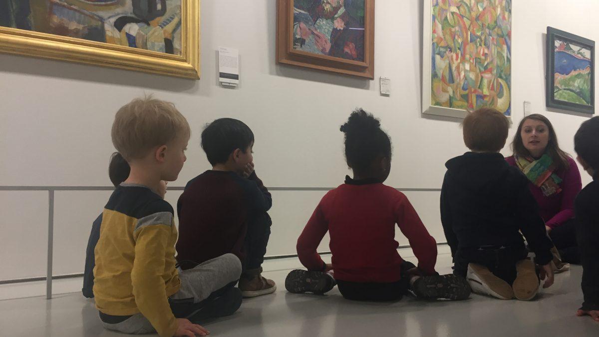 Les enfants au musée