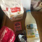 ingrédients scones par Margaux