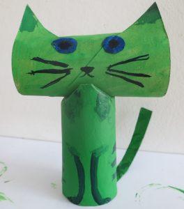 le chat green de Montpellier