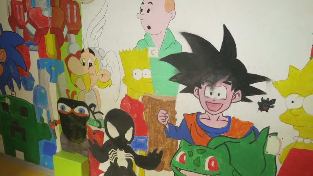 galerie de personnages