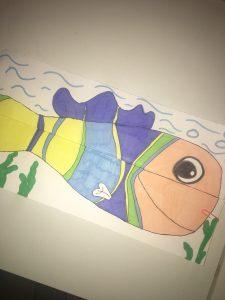 Exemple du poisson fermer