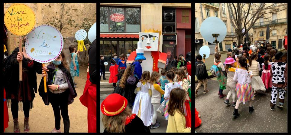 carnaval à Montpellier : le défilé des enfants