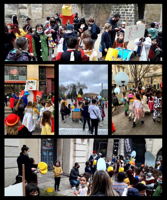 carnaval à Montpellier : Le Relais des Enfants