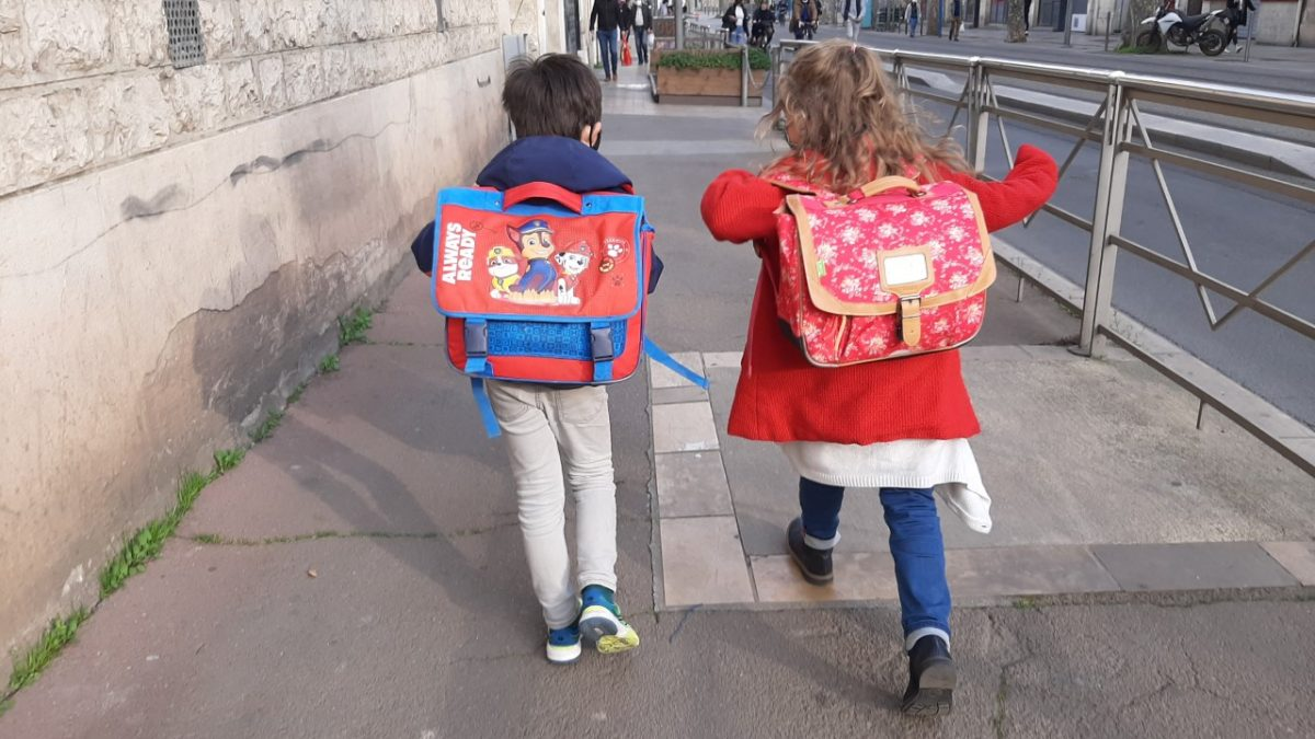 Le chemin des écoliers